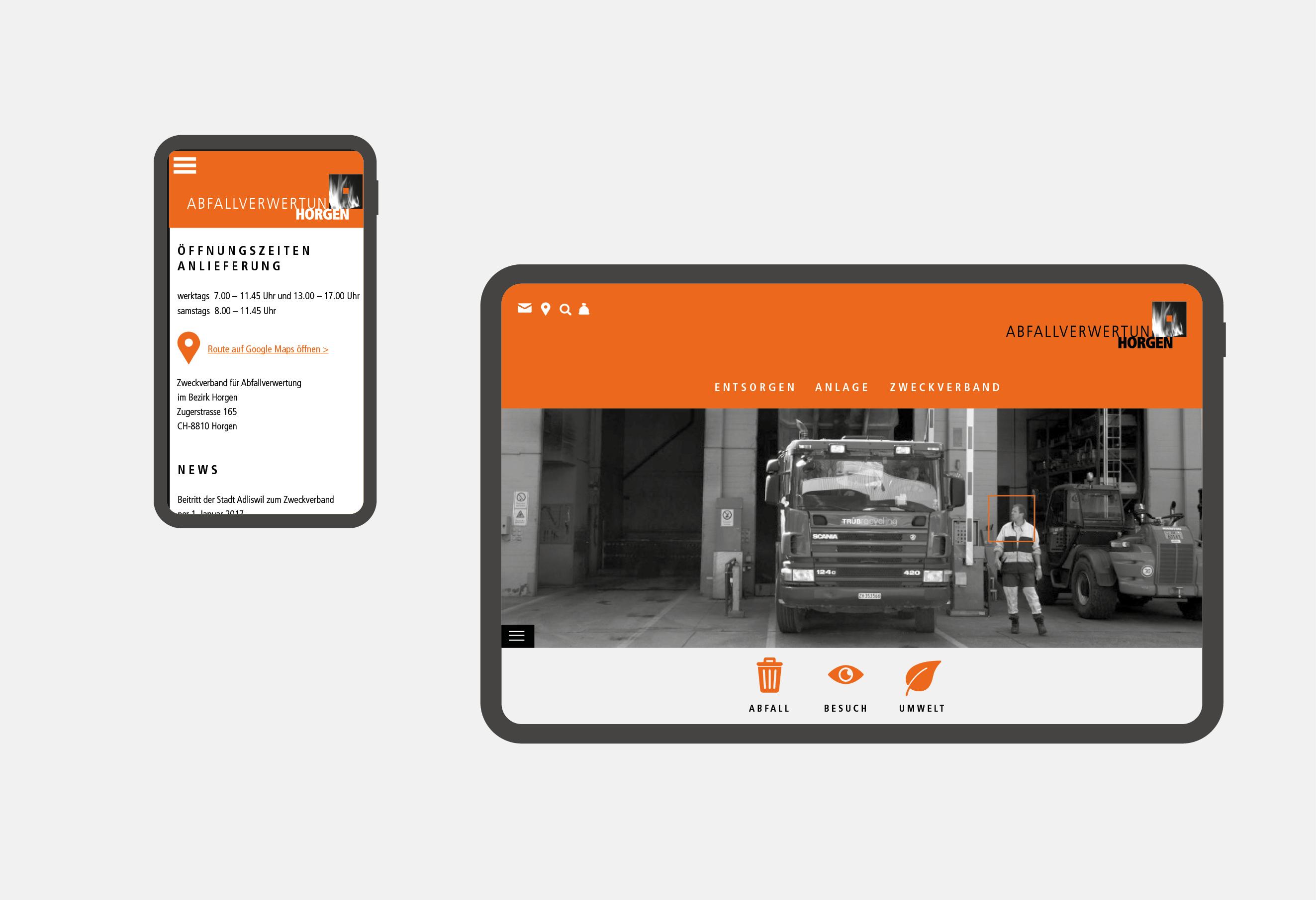 KVA Horgen – Auftritt & Webseite