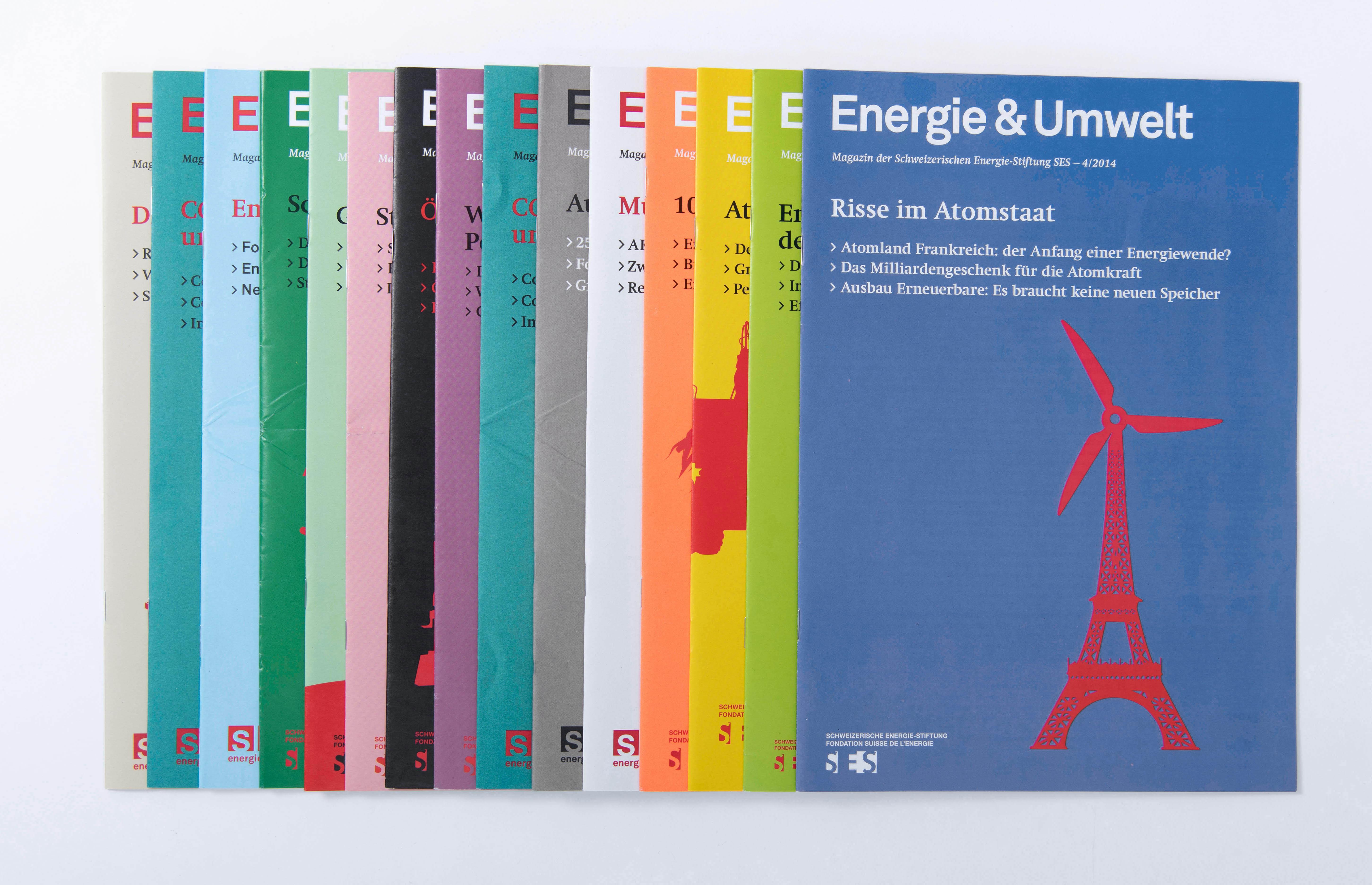 Schweizerische Energiestiftung, Mitglieder*innen-Magazin, Energie & Umwelt