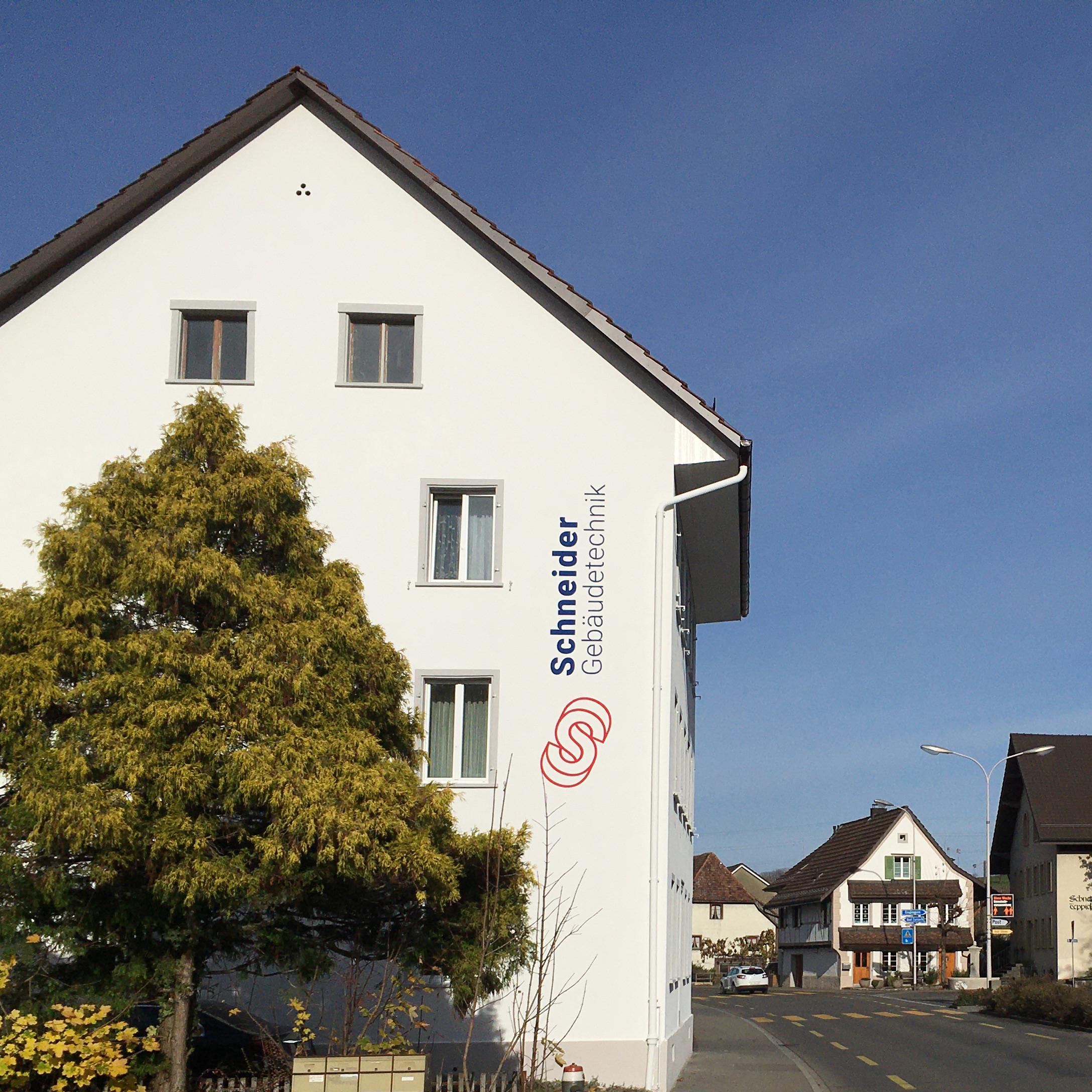 Schneider Gebäudetechnik – Corporate Design, Logo, Beschriftungen