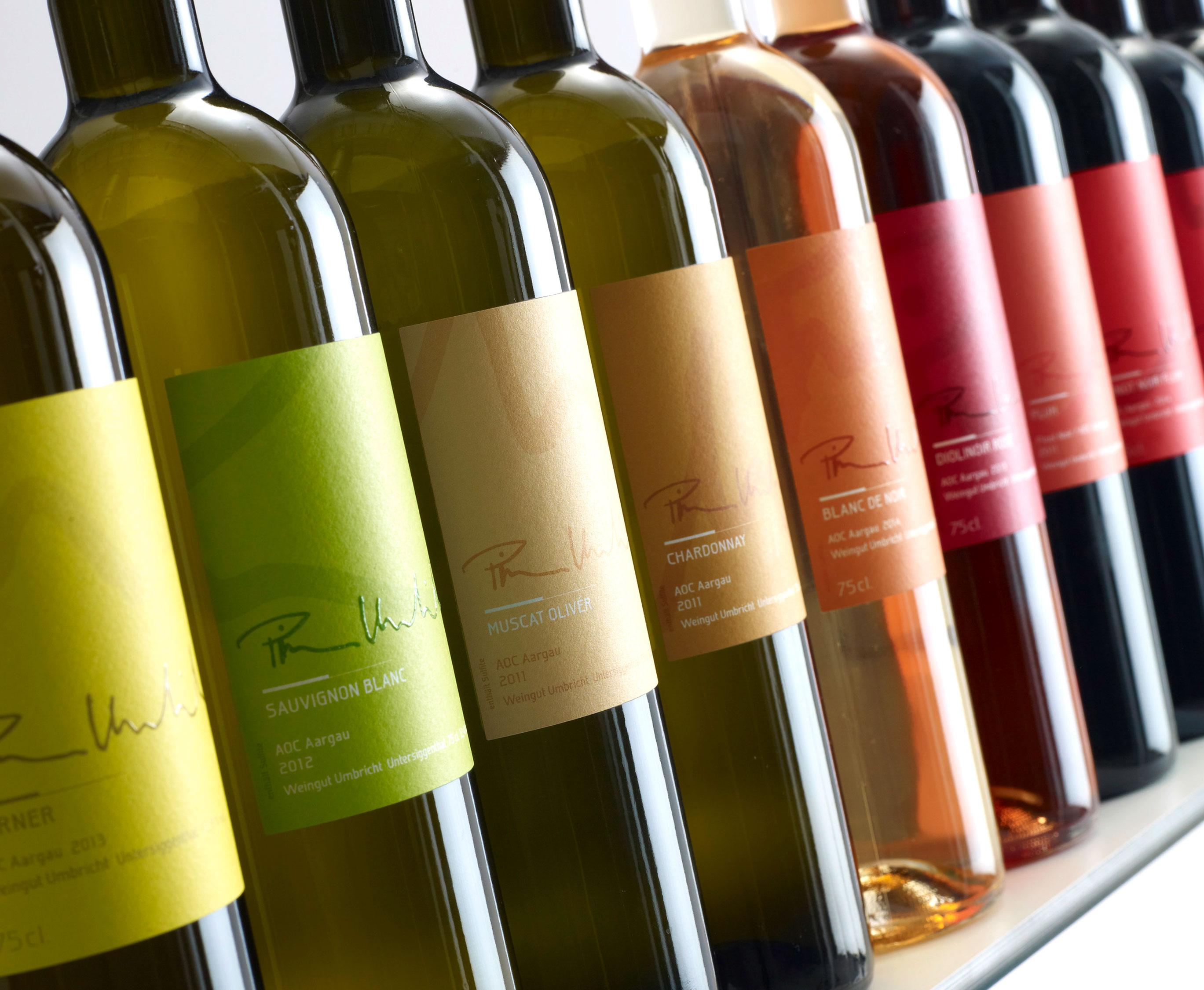 Pirmin Umbricht – Wein-Etiketten Design