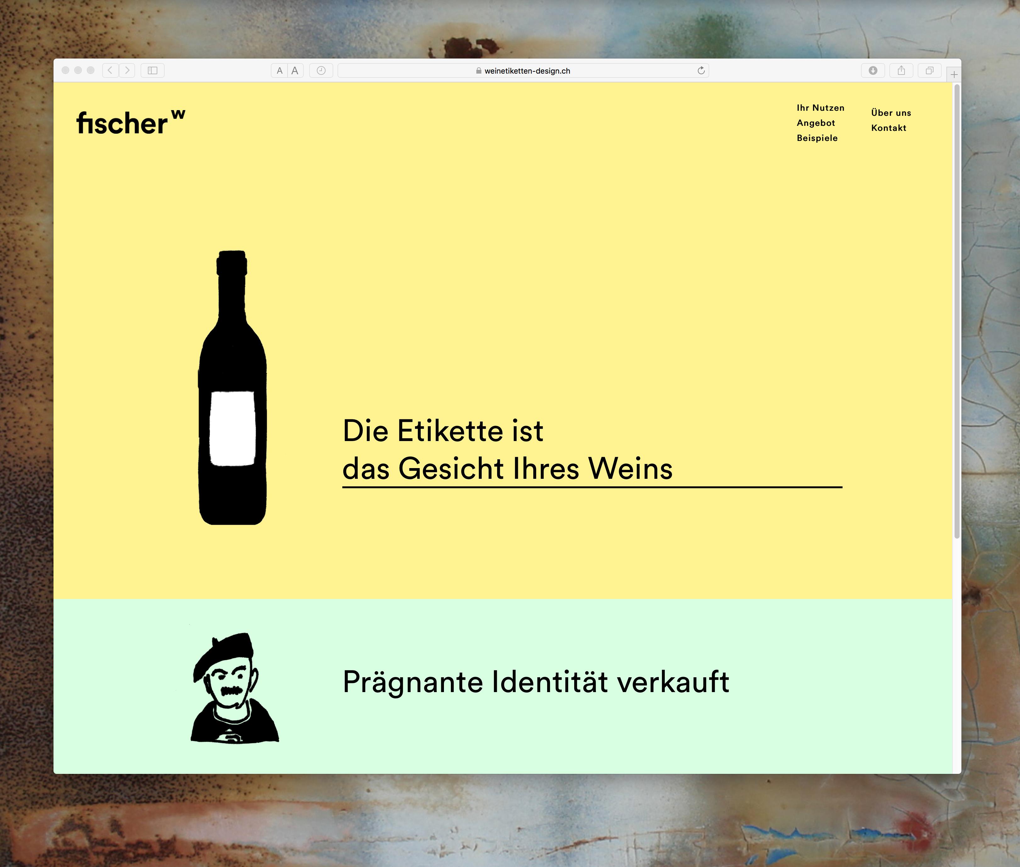 Die Etikette ist das Gesicht Ihres Weines – hier geht's zur Webseite